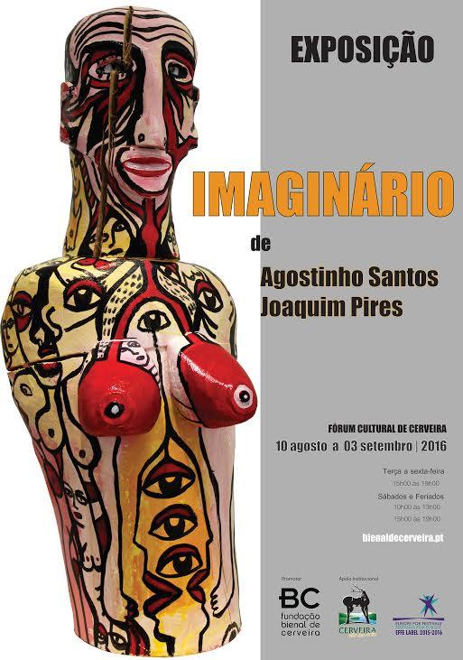 Cerveira: Fórum Cultural mostra interpretações plásticas do quotidiano de Joaquim Pires e Agostinho Santos (até 3 Set)