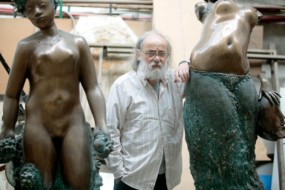 Morreu Mestre José Rodrigues, autor do monumento evocativo ao 25 de Abril em Braga