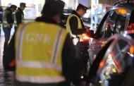 GNR deteve 113 pessoas durante o fim-de-semana