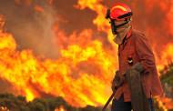 Seis fogos devastam mato e povoamentos florestais em Vila Verde; meios aéreos em Cabanelas e Barros