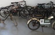 GNR recupera motociclos e bicicletas antigas em Barcelos e Vila Verde; investigação começou em Amares