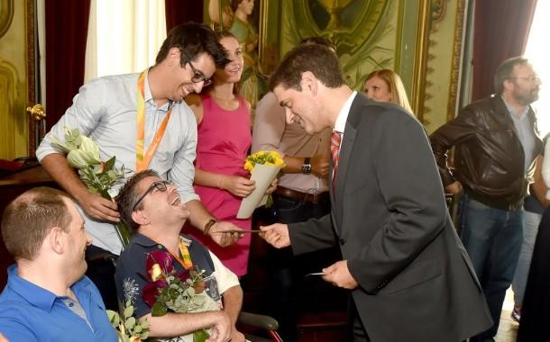 Atletas de Braga que participaram nos Jogos Olímpicos e Paralímpicos homenageados pela autarquia