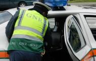 GNR fez 96 detenções em flagrante delito no fim-de-semana