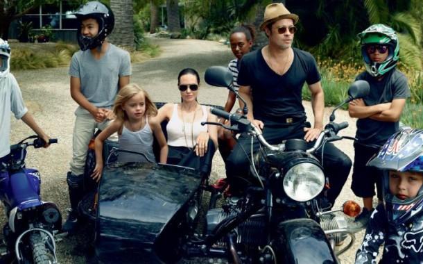 Filhos de Angelina Jolie e Brad Pitt querem morar com o pai?
