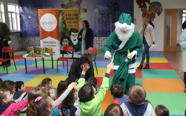 Câmara de Braga edita ´O Pai Natal Verde´ para sensibilizar crianças a adoptarem comportamentos ambientalmente responsáveis