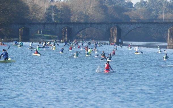 Primeira River Race com 250 canoístas no rio Cávado