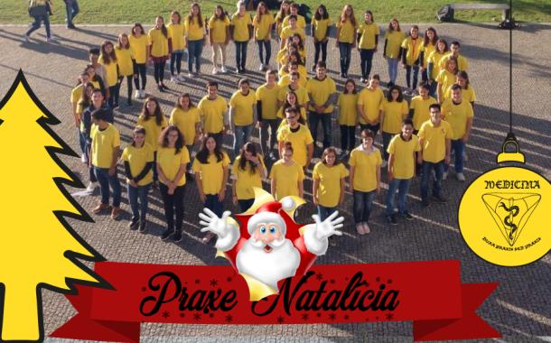 Caloiros e 'doutores' de Medicina de UMinho levam esta quinta-feira Natal solidário ao centro de Braga