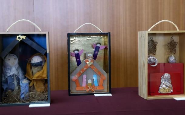 Presépios em exposição no Hospital de Braga