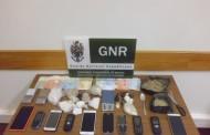 Três detidos e quase sete mil doses de droga apreendidas em Guimarães