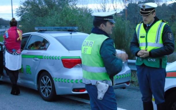 GNR deteve 37 pessoas nas últimas 12 horas, na sua maioria por condução com álcool