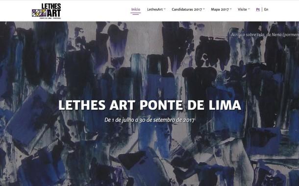 Inscrições à Lethes Art Ponte de Lima 2017 abertas até 31 de Março