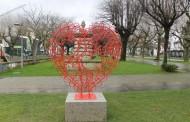Vila Verde: Coração dos Namorados à espera dos cadeados que simbolizam o amor