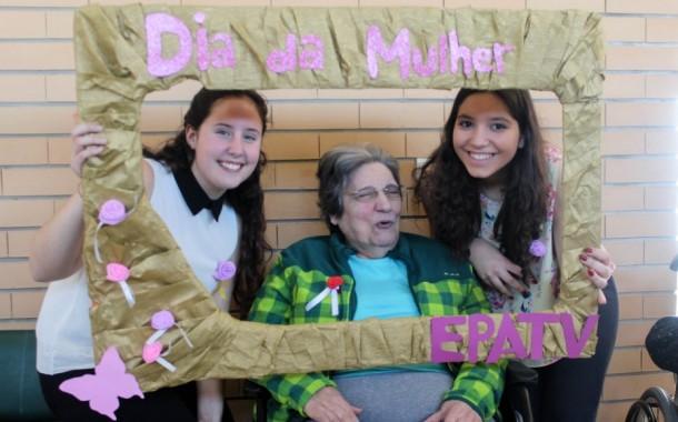 EPATV comemora com idosas o Dia Internacional da Mulher
