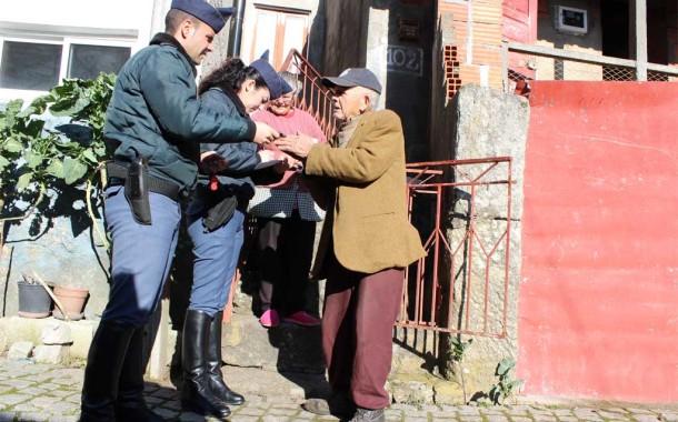GNR lança operação para sinalizar idosos que vivem sozinhos e isolados