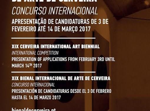 Candidaturas ao Concurso Internacional da Bienal de Arte de Cerveira encerra dia 14