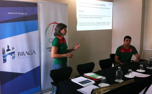 Programa de Educação Olímpica arrancou em Braga