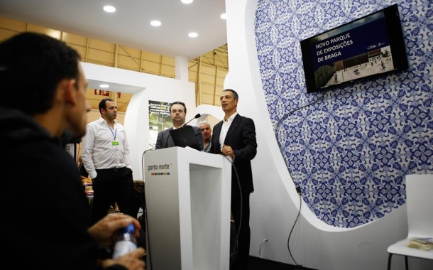 Novo Parque de Exposições de Braga apresentado na Bolsa de Turismo de Lisboa