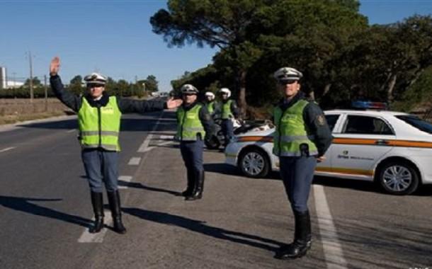 GNR registou 1541 infracções no trânsito no último fim-de-semana