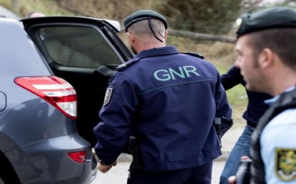 GNR: 134 detidos durante o fim-de-semana