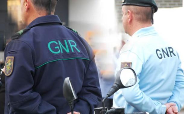 GNR: 510 detidos em flagrante delito na última semana