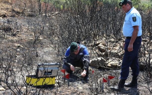 GNR: Dois detidos por fogo posto durante o fim-de-semana