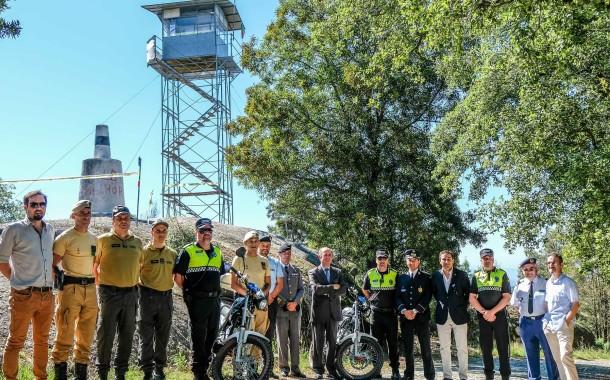 Polícia Municipal de Braga conta com dois motociclos para vigilância florestal