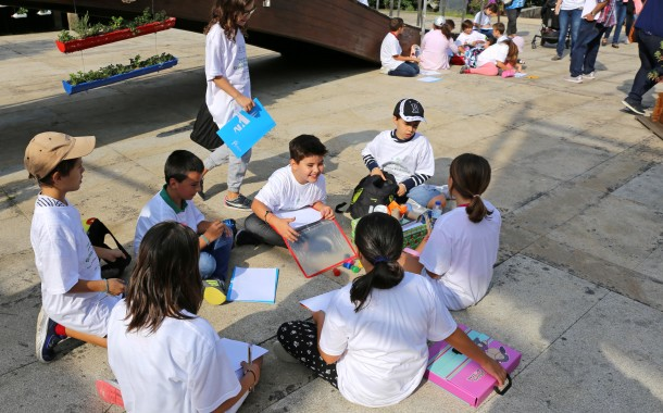 Crianças foram artistas por um dia na Quinta Pedagógica de Braga