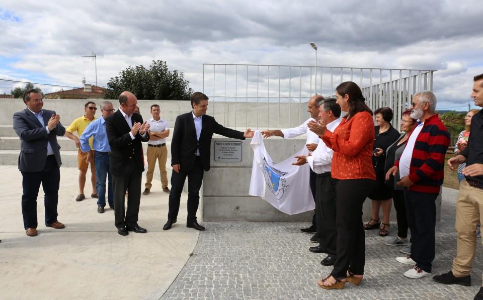 BRAGA: Ricardo Rio inaugura Parque de Lazer em de Mire de Tibães