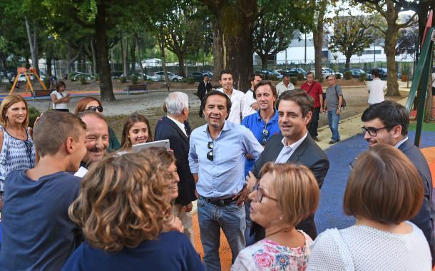 Câmara de Braga investe meio milhão de euros na recuperação dos parques infantis