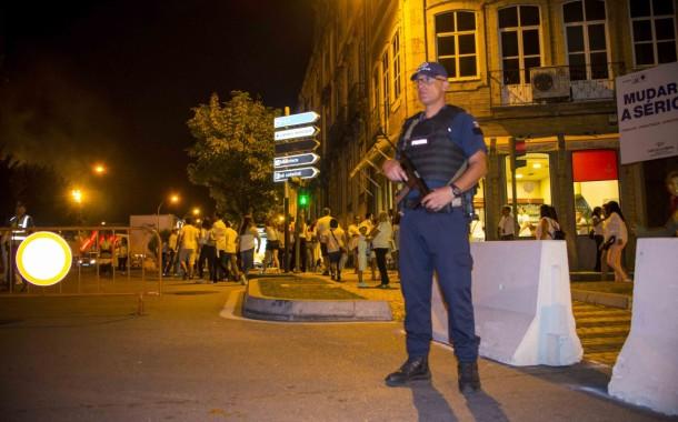 Noite de Branca de Braga não deu tréguas à PSP