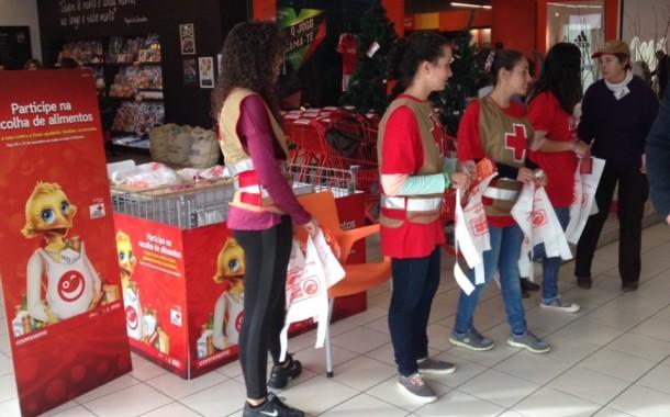 Cruz Vermelha de Braga promove até domingo recolha de alimentos nas lojas Continente