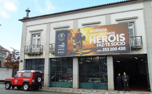 Jantar homenageia Bombeiros Voluntários de Braga este sábado