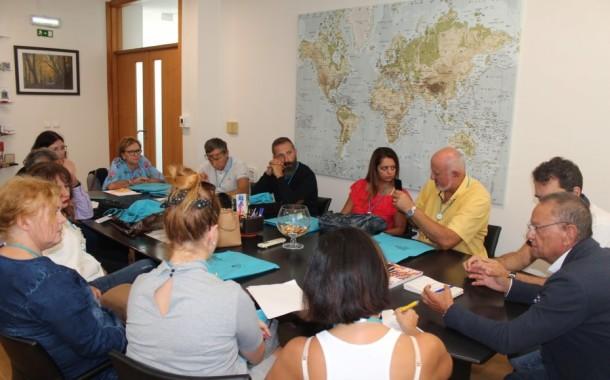 EPATV acolheu a primeira reunião do projecto sobre refugiados e migrantes