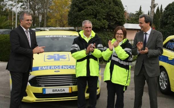 Nova VMER do INEM em Braga já serve também Homem e Cávado