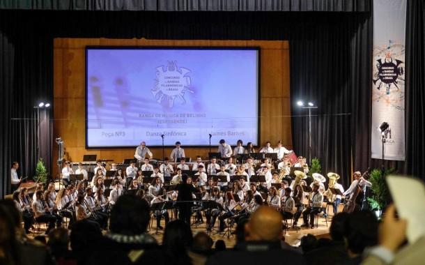 Concurso de Bandas Filarmónicas leva este fim-de-semana a Braga 15 bandas e mil músicos