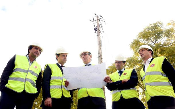 EDP Distribuição enterra 6,5 quilómetros de cabos de média tensão em Braga