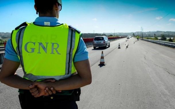 GNR: 130 pessoas detidas em flagrante delito durante o fim-de-semana