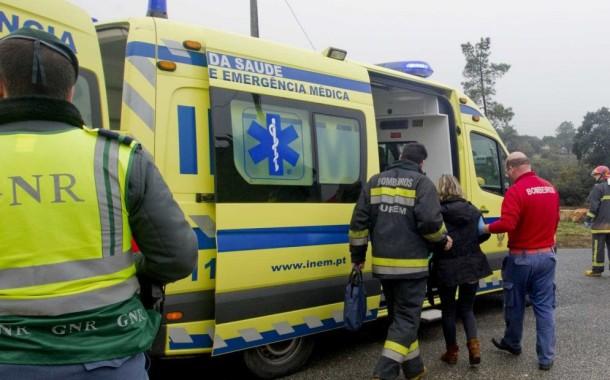 SINISTRALIDADE: Um morto e um ferido graves nas últimas doze horas