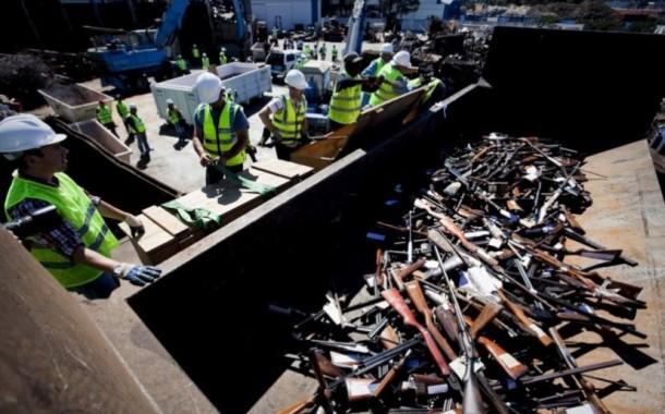 PSP destruiu mais de três mil armas