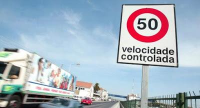 Governo admite limite de 30 km/h nas localidades