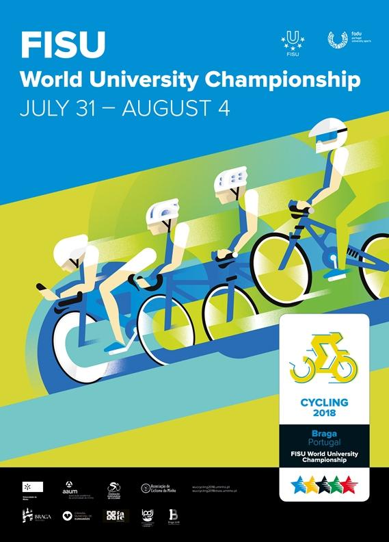 Mundial Universitário de Ciclismo marca comemorações do Dia da UMinho