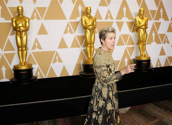 Óscar de Frances McDormand foi roubado