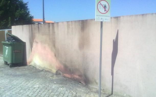 """Braval denuncia incêndio """"deliberado"""" em ecoponto junto à Quinta Pedagógica de Braga"""