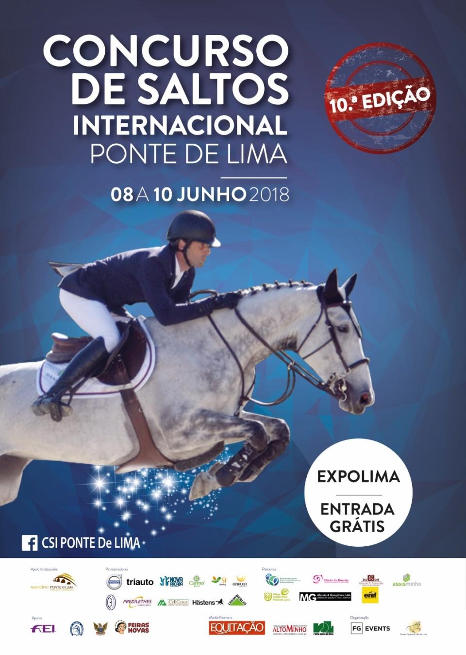 Ponte de Lima recebe o CSI – Concurso de Saltos Internacional no próximo fim-de-semana