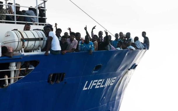 Portugal vai receber migrantes do navio Lifeline