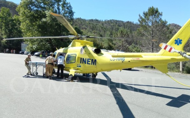 GERÊS: Turista espanhola ferida após queda em cascata