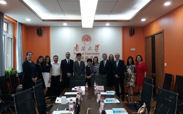 Delegação de Braga de visita à China no âmbito do projecto de ensino de Mandarim