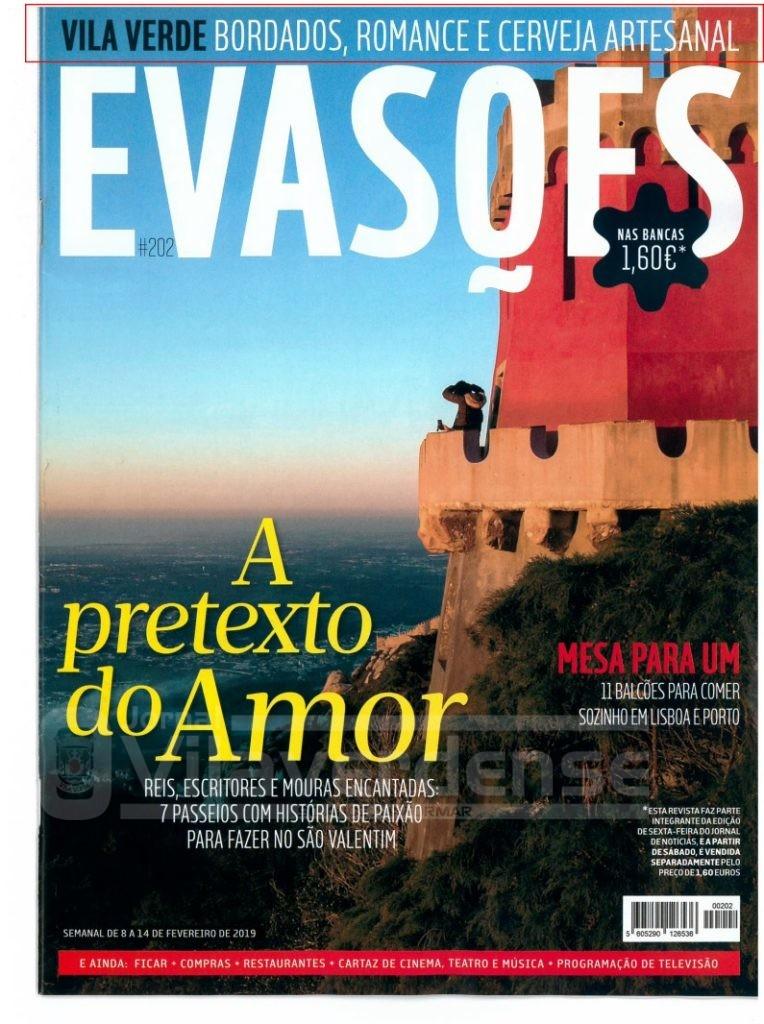 Vila Verde em destaque na revista 'Evasões'