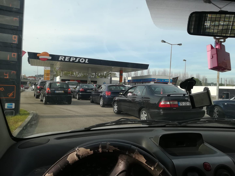 'Bombas' de Braga sem combustível