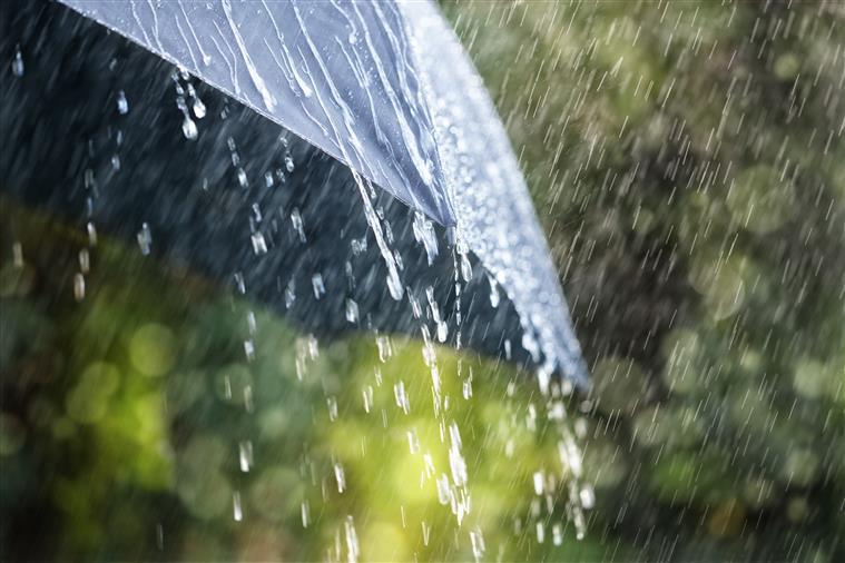 Chuva não vai abrandar durante a semana